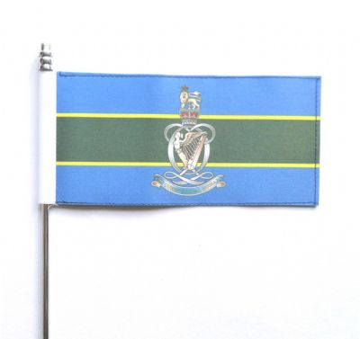 British Army Queen's Royal Hussars (The Queen's Own and Royal Irish) Ultimate Table Flag - 148